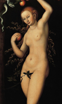 Eve (the second panel of a pair)