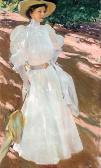 Maria at La Granja