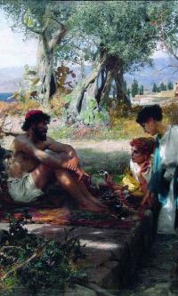 Дорога к святыне. Греческий торговец