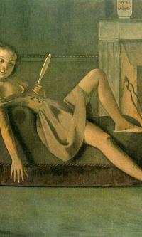 Девочка у камина
