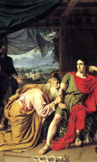 Приам, испрашивающий у Ахиллеса тело Гектора