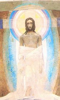 Воскресение. Триптих. Эскиз росписи Владимирского собора в Киеве