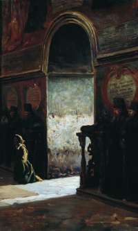 In the monastery. 1870