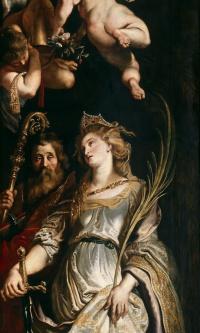 Saints of Elegy and Catherine