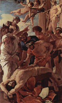 The martyrdom of St. Erasmus