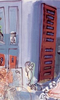 Художник и его модель в студии
