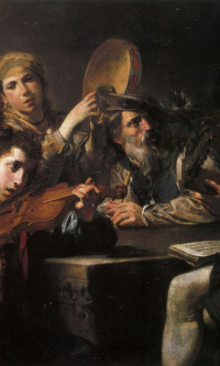 Concerto for four characters and drunks