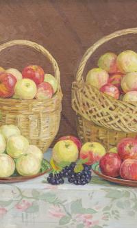 Яблоки и рябина