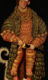 Portrait of Genriha Pious, Duke of Saxony