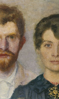 Double portrait of Marie and P. S. krøyer