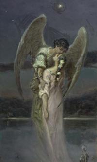 Девушка и ангел (Поцелуй ангела)
