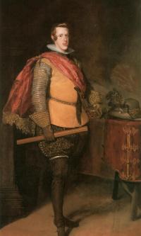 Портрет Филиппа IV в жёлтом кафтане