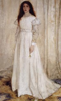 Симфония в белом № 1. Девушка в белом. Портрет Джоанны Хиффернан