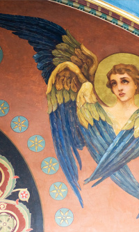 Seraphim. The painting of the Vladimir Cathedral in Kiev