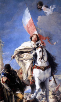 The phenomenon of St. James at the battle of Clavijo