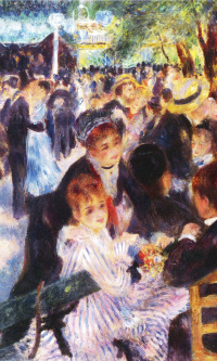 Ball at the Moulin de La Galette (the reduced author's copy)