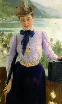 Portrait Of Natalia Borisovna Nordman