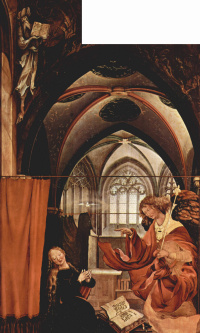Sengeysky the altar, the inner side