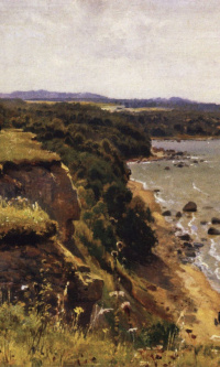 Off the coast of the Gulf of Finland (Adrias near Narva). Sketch for the eponymous painting