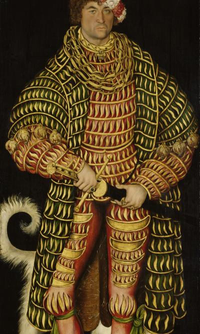 Portrait of Henry V the Pious, Duke of Saxony