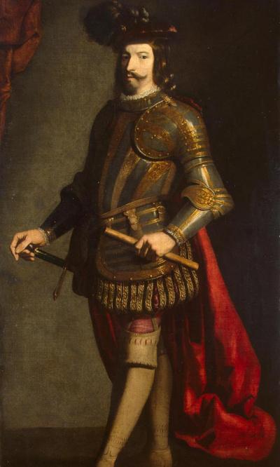 Portrait of the commander