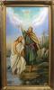 Крещение Иисуса Христа (холст,масло)
