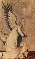 The Altar Orsini. The angel of the Annunciation