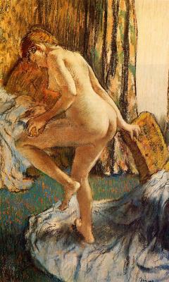 Эдгар Дега. После ванны 2