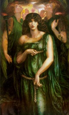 Dante Gabriel Rossetti. Astarte, The Syrian