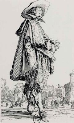 Жак Калло. Кавалер со сложенными руками