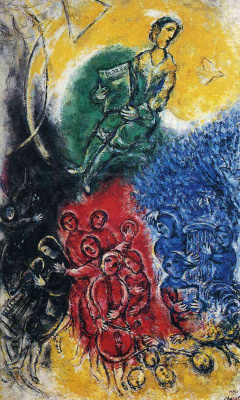 Marc Chagall. Music