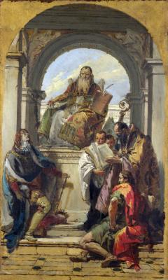 Джованни Баттиста Тьеполо. Четыре святых