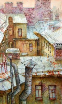 Anastasia Sergeevna Denisova. Houses-Oldies