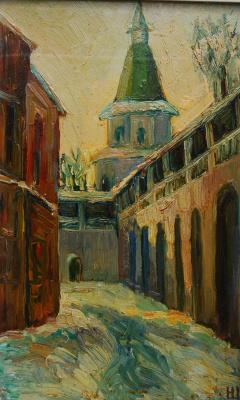 Надежда Георгиевна Шацкая. Башня Давидов дом
