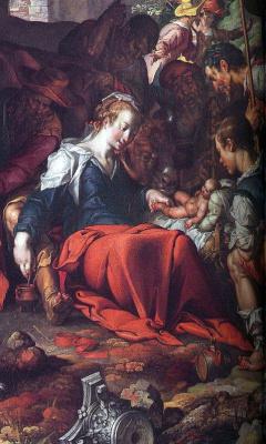 Иоахим Эйтевал. Рождество Иисуса Христа