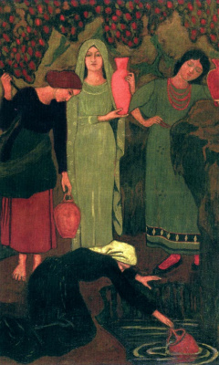 Paul Sérusier. Waiting at the well