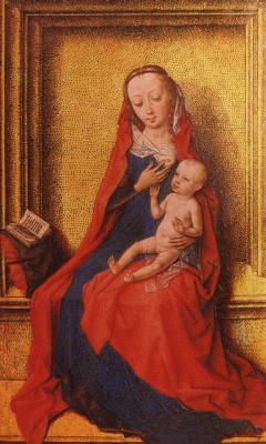 Дирк Баутс. Мадонна с младенцем.