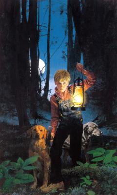 Роберт Макгиннис. В лесу с фонарем