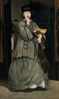 Edouard Manet. Street singer