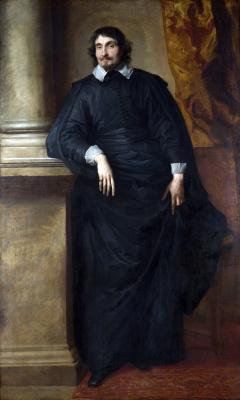 Антонис ван Дейк. Портрет аббата Скагрии