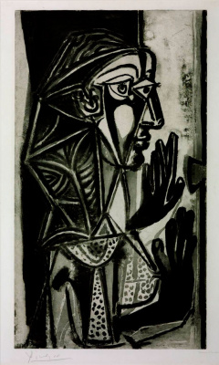 Pablo Picasso. Woman at the window