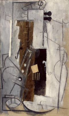 Pablo Picasso. Clarinet and violin