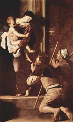 Michelangelo Merisi de Caravaggio. Madonna Of Loreto
