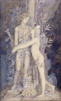 Gustave Moreau. Complaints of the poet