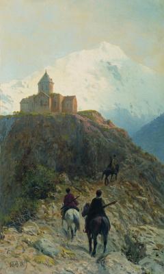 Лев Феликсович Лагорио. Кавказский вид