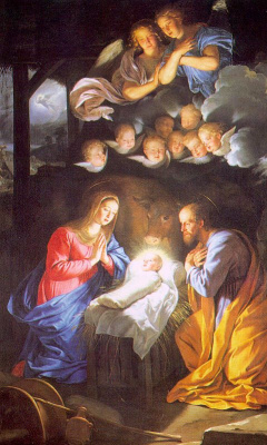 Philippe de Champigny. The Birth Of The Saviour