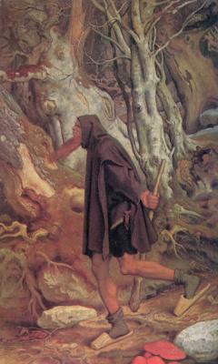 Moritz background Schwind. Rubezahl