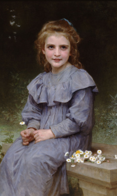 William-Adolphe Bouguereau. Chamomile
