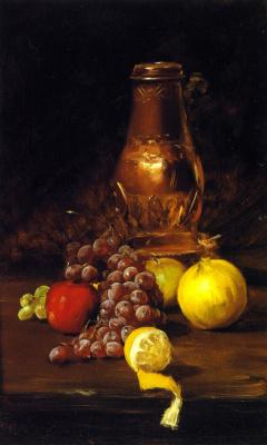 Уильям Чейз. Натюрморт с лимоном