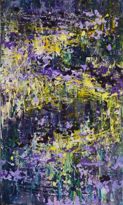 "Tanya Vasilenko. ""Mystic"", acrylic on canvas. Mystic. Acrylic on Canvas. 2016"